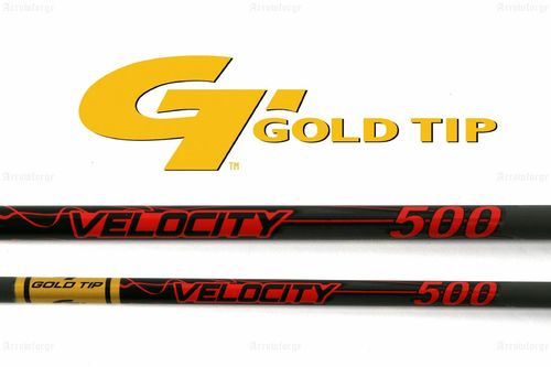 "Carbonschaft ""Velocity Hunter"" ( inkl. Nock + Insert) GOLDTIP"