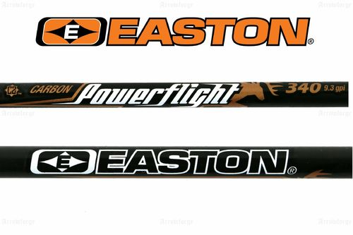 EASTON Powerflight Carbonschaft ( inkl. Nock + Insert)