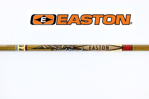 EASTON Axis Traditional Carbonschaft ( inkl. Nock)
