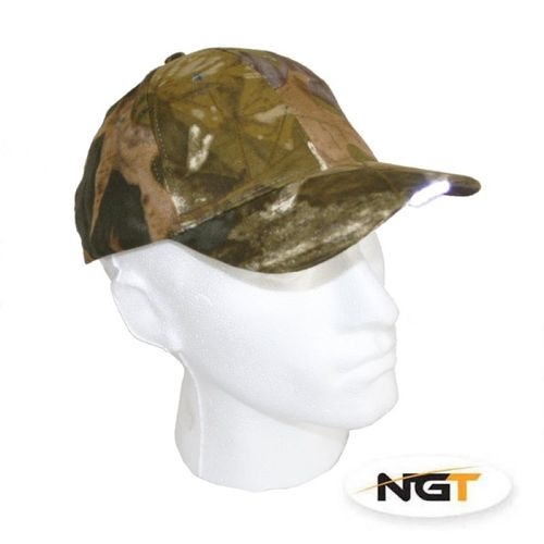 Base Cap Camo mit LED