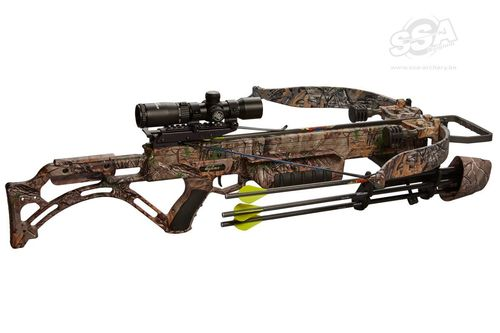 EXCALIBUR Matrix Bulldog 400 XTRA  Camo Armbrustset Lite Stuff inkl. Tac-Zone Scope