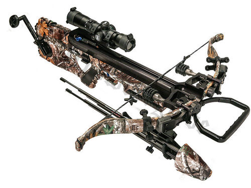 EXCALIBUR CROSSBOW ASSASSIN 360 REALTREE EDGE inkl. Tac-Zone Scope