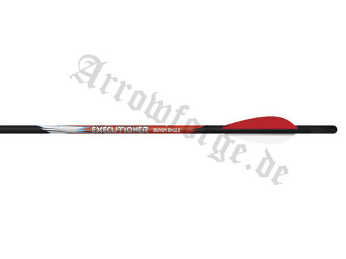 "BLACK EAGLE Executioner 2"" Vanes 20""- Armbrustpfeile (6er Pack)"
