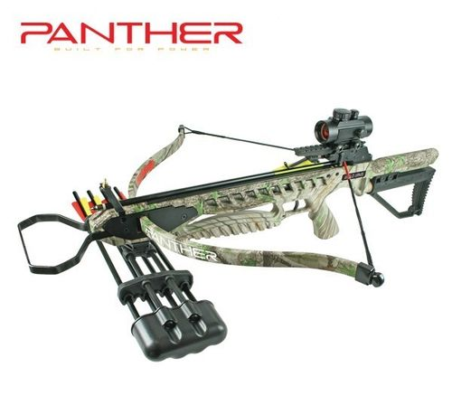 Recurve Armbrust Panther Camo 175 lbs Deluxe SET